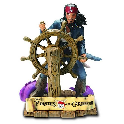 Pirates of the Caribbean Jack Sparrow Paperweight