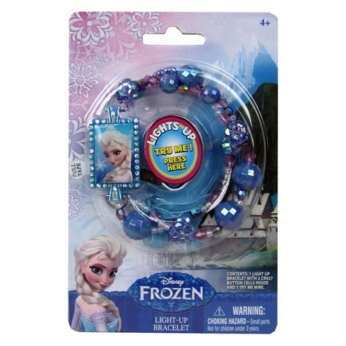 Disney Frozen Elsa Light-Up Bead Bracelet