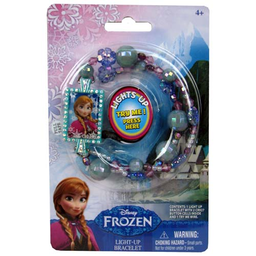 Disney Frozen Anna Light-Up Bead Bracelet