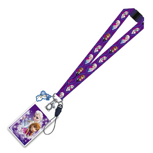 Disney Frozen Lanyard Key Chain