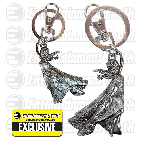 Disney Frozen Elsa Pewter Key Chain Backpack Clip