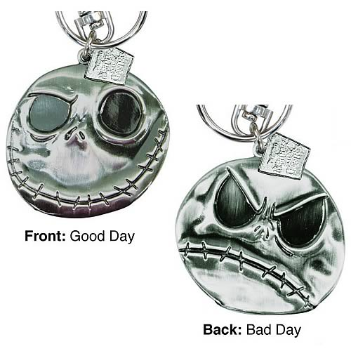 Nightmare Before Christmas Jack Skellington Pewter Key Chain