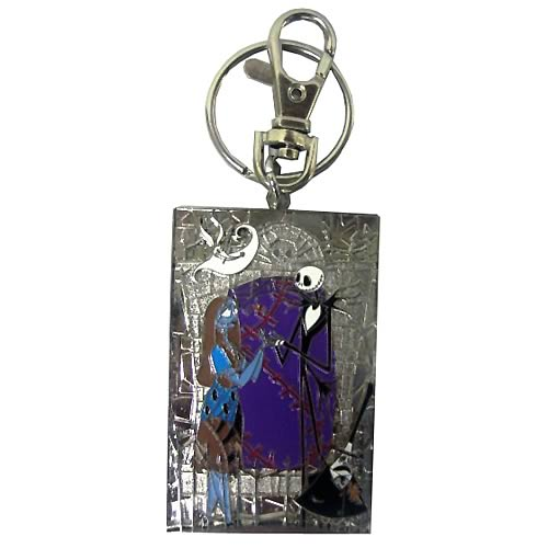 NBX Jack, Sally, Mayor and Zero Color Pewter Key Chain