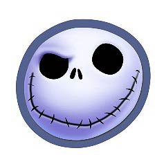 Nightmare Before Christmas Jack Winking Magnet