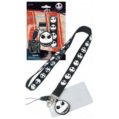 Nightmare Before Christmas Jack Skellington Lanyard - Monogram ...