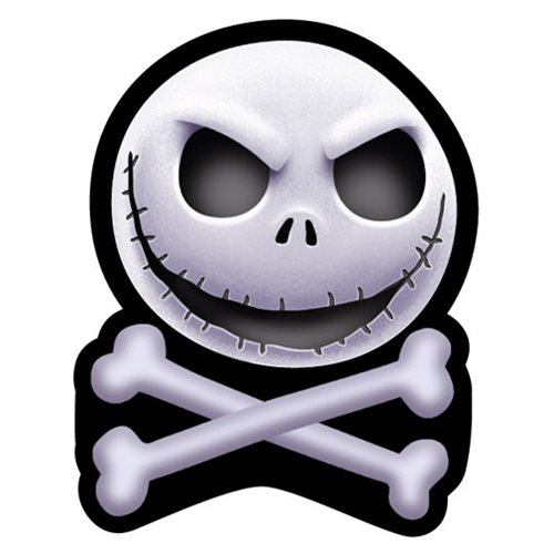 Nightmare Before Christmas Jack Crossbones Magnet