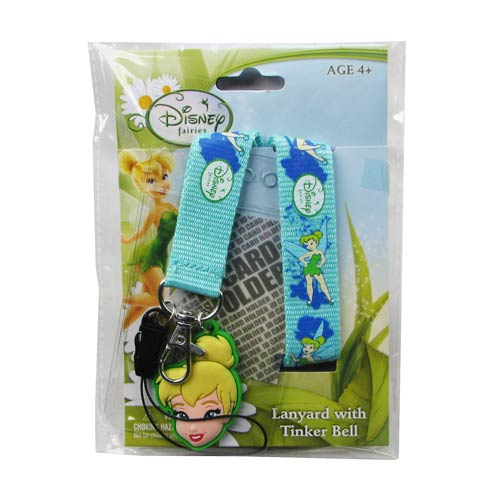 Tinker Bell Lanyard with ID Holder