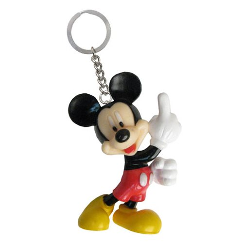 Mickey Mouse Figural Key Chain
