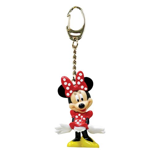 Minnie Mouse Figural Key Chain