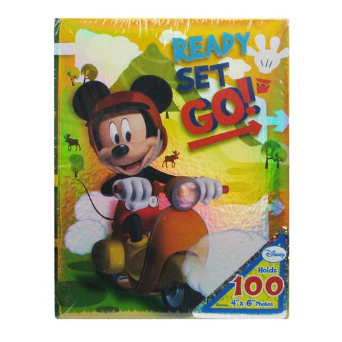 Mickey Mouse Ready Set Go! Small Photo Album