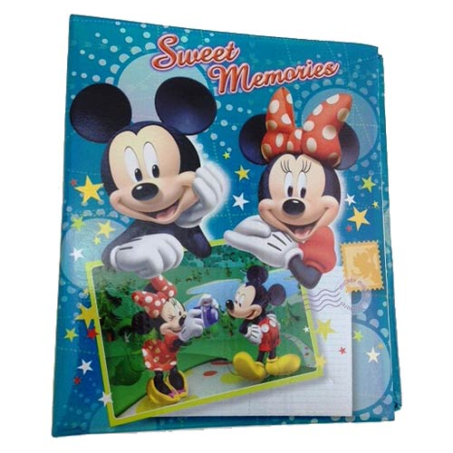 Mickey Mouse and Minnie Mouse Medium Photo Album