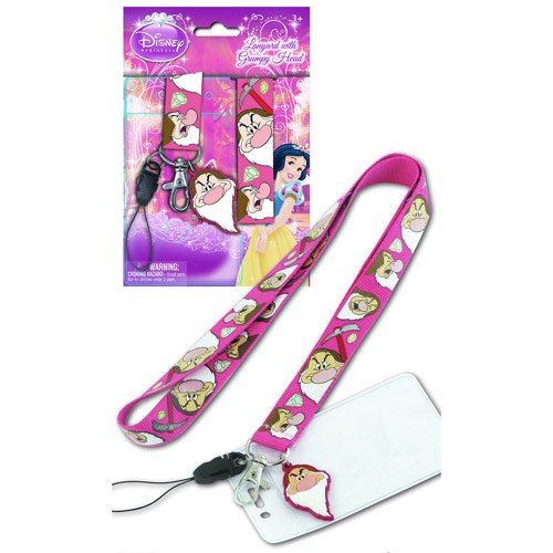 Snow White and the Seven Dwarfs Grumpy Lanyard