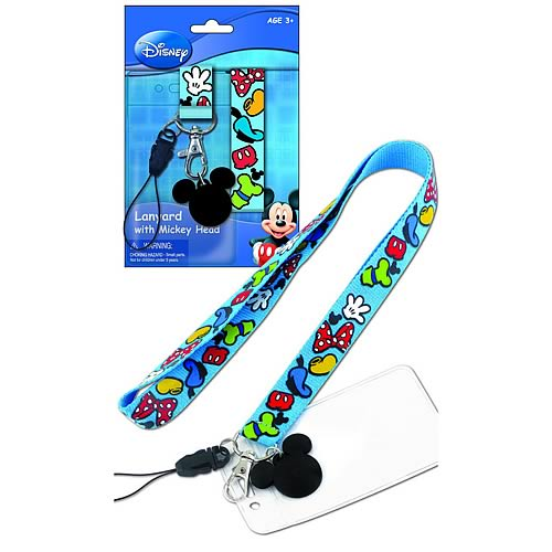 Mickey Mouse and Gang Lanyard