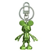 Mickey Mouse August Peridot Pewter Dangle Key Chain
