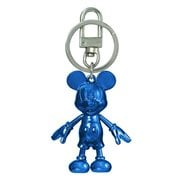Mickey Mouse September Sapphire Pewter Dangle Key Chain