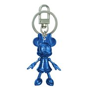 Minnie Mouse September Sapphire Pewter Dangle Key Chain