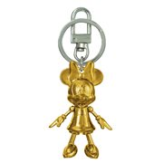 Minnie Mouse November Topaz Pewter Dangle Key Chain