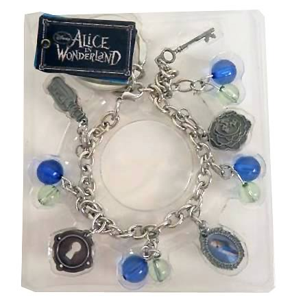 Alice in Wonderland Alice Bracelet Key Chain
