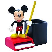 Mickey Mouse Pencil and Notepad Holder