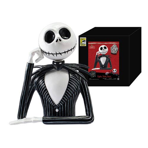 Nightmare Before Christmas Jack Skellington Resin Bust Bank
