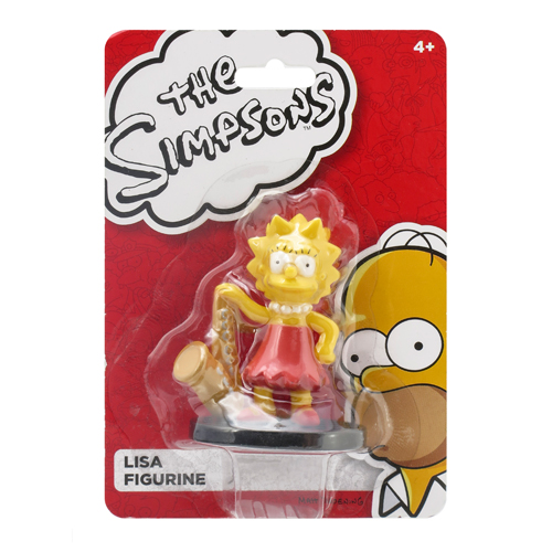 The Simpsons Lisa 3-D Mini-Figure