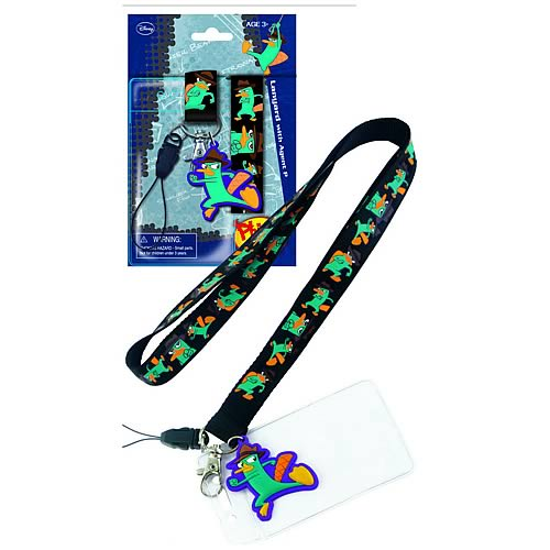 Phineas and Ferb Agent P Lanyard