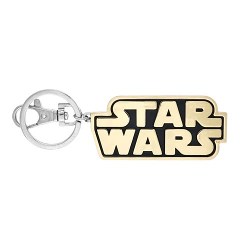 Star Wars Logo Pewter Key Chain