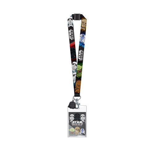 Star Wars Lanyard with Darth Vader Soft Touch Dangle