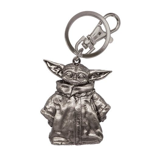 Star Wars: The Mandalorian The Child Pewter Key Chain