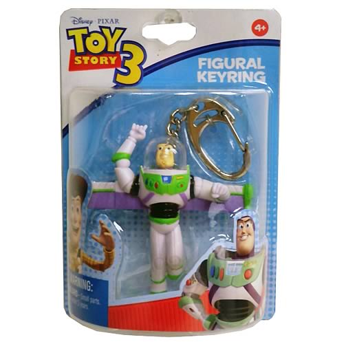 Toy Story 3 Buzz Lightyear Figure Key Chain