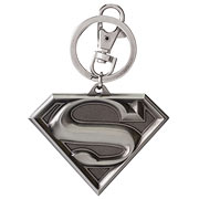 Superman Shield Logo DC Comics Pewter Key Chain