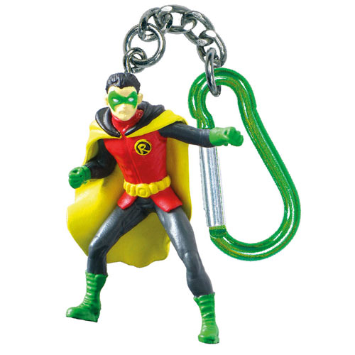 Batman Robin DC Comics Mini-Figure Key Chain