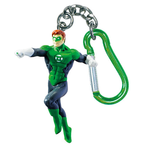 Green Lantern DC Comics Mini-Figure Key Chain