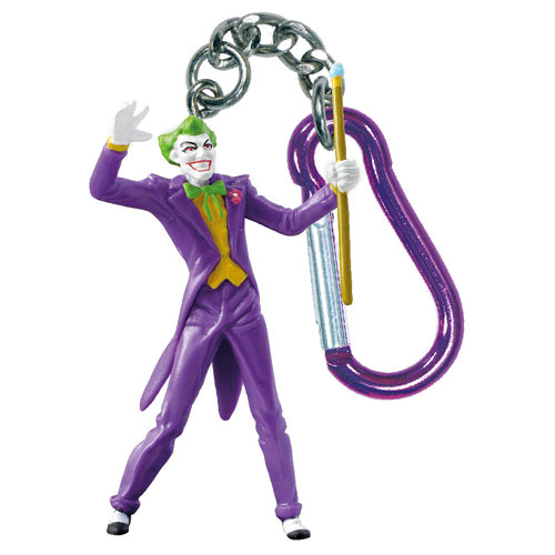 Batman The Joker DC Comics Mini-Figure Key Chain