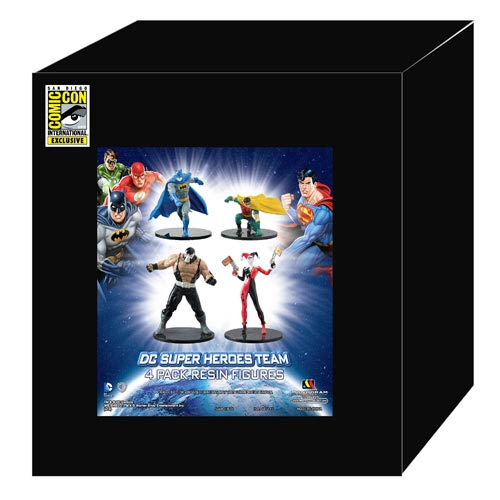 DC Superheroes SDCC 2013 Exclusive Resin Fgure Set #1