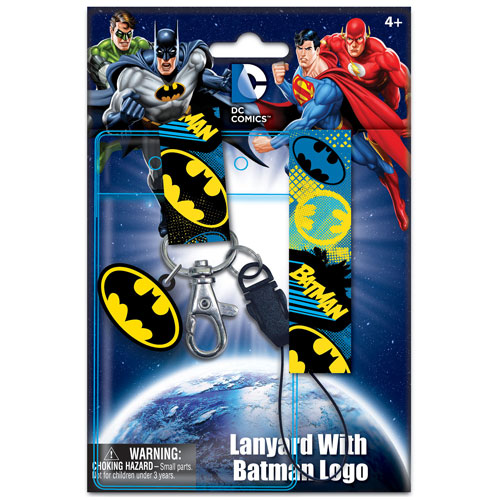 Batman Lanyard with ID Holder