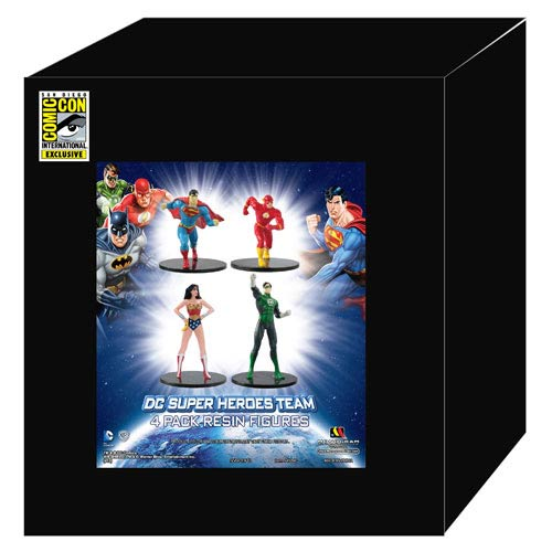 DC Superheroes SDCC 2013 Exclusive Resin Figure Set #2
