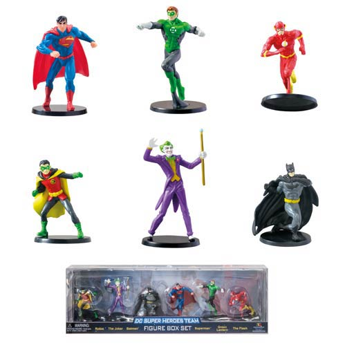 DC Comics Superheroes Team Box Set 6-Pack