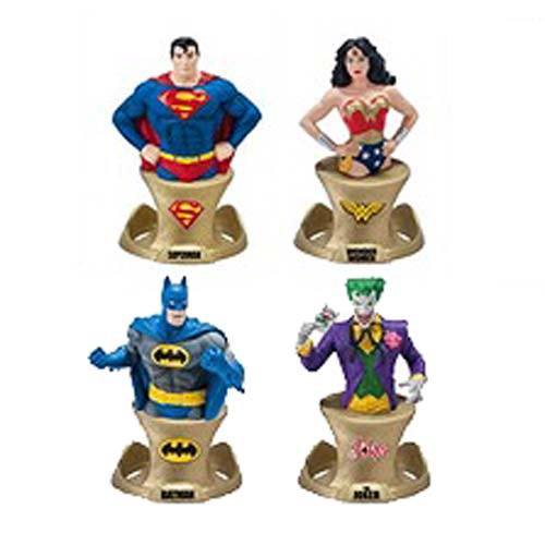 DC Resin Paperweight 4-Pack - SDCC 2014 Exclusive