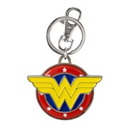 Wonder Woman Logo Color Pewter Key Chain