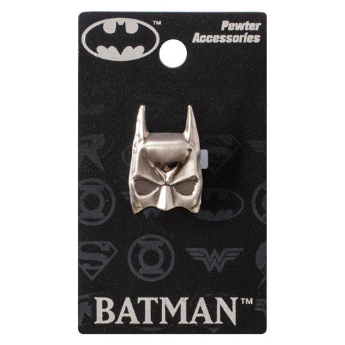 Batman Mask Pewter Lapel Pin