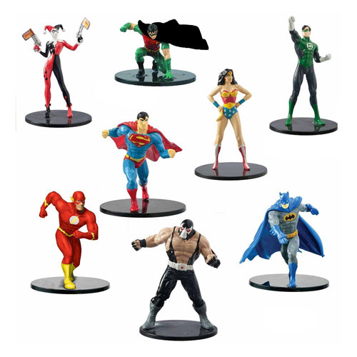 DC Comics 4-Inch Figure 8-Pack