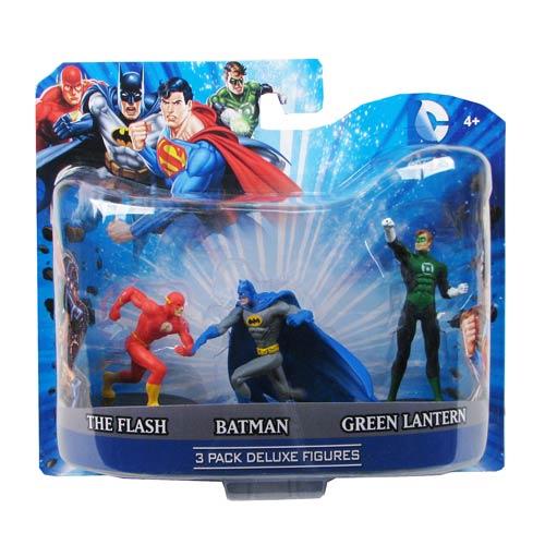 DC Superheroes 4-Inch Mini-Statue Set B 3-Pack