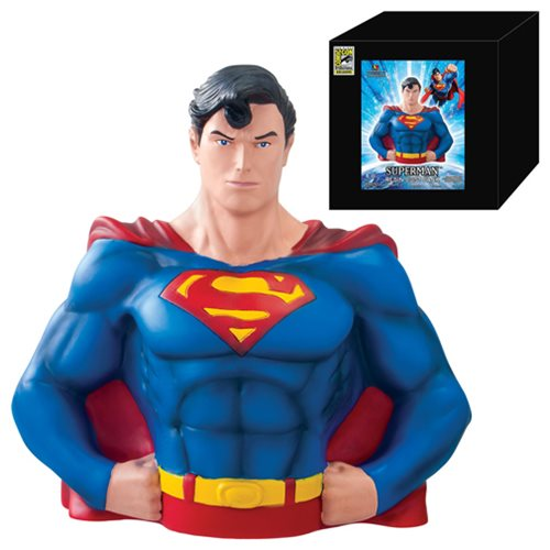 Superman SDCC 2013 Exclusive Resin Bust Bank