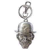 Batman The Riddler Head Pewter Key Chain