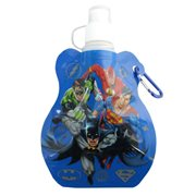 DC Comics Team Up Blue Water Bottle Key Chain
