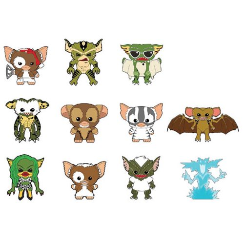 Gremlins Series 2 3-D Figural Key Chain 6-Pack