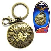 Wonder Woman Shield Pewter Key Chain