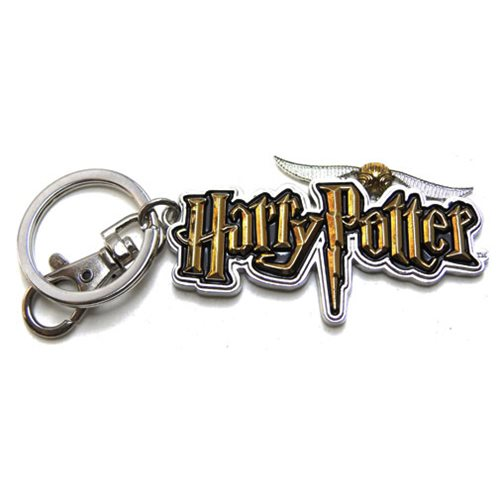 Harry Potter Logo Pewter Key Chain