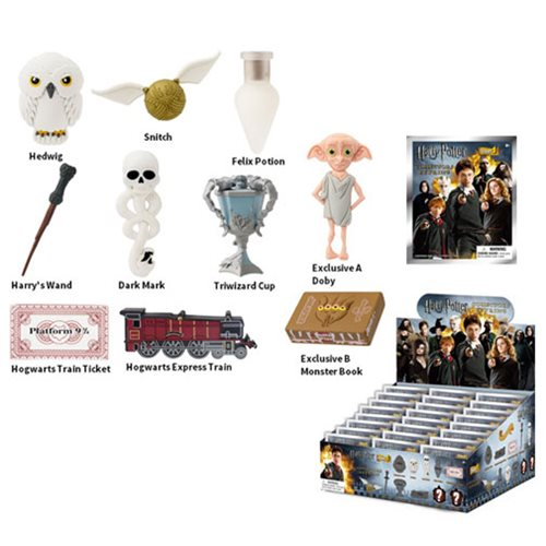 Harry Potter 3-D Figural Key Chain Display Box